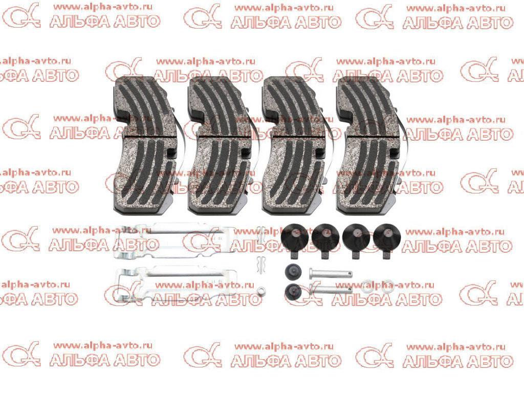 S&K SK29165-00 Колодки дисковые 29165 BPW