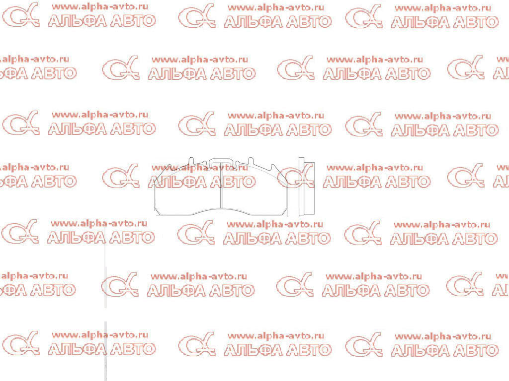 S&K SK29174-00 Колодки дисковые 29174/29218 Volvo FE без пластин нового образца перед