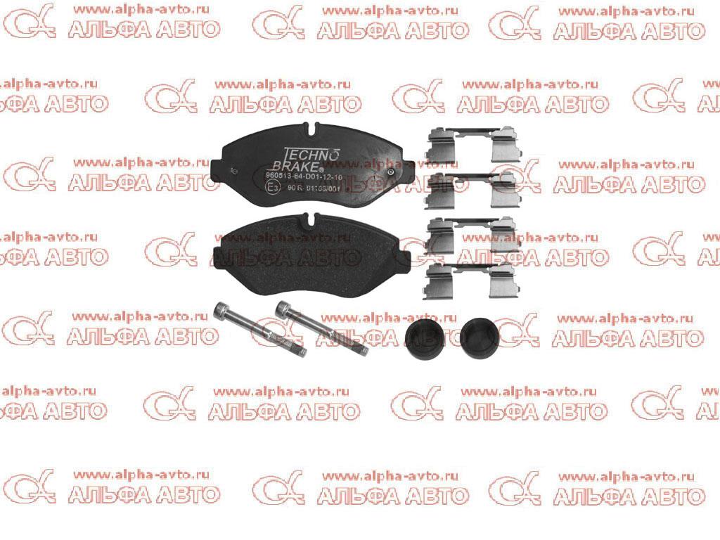 Emmerre 960513 Колодки дисковые 29229 Iveco Daily передние