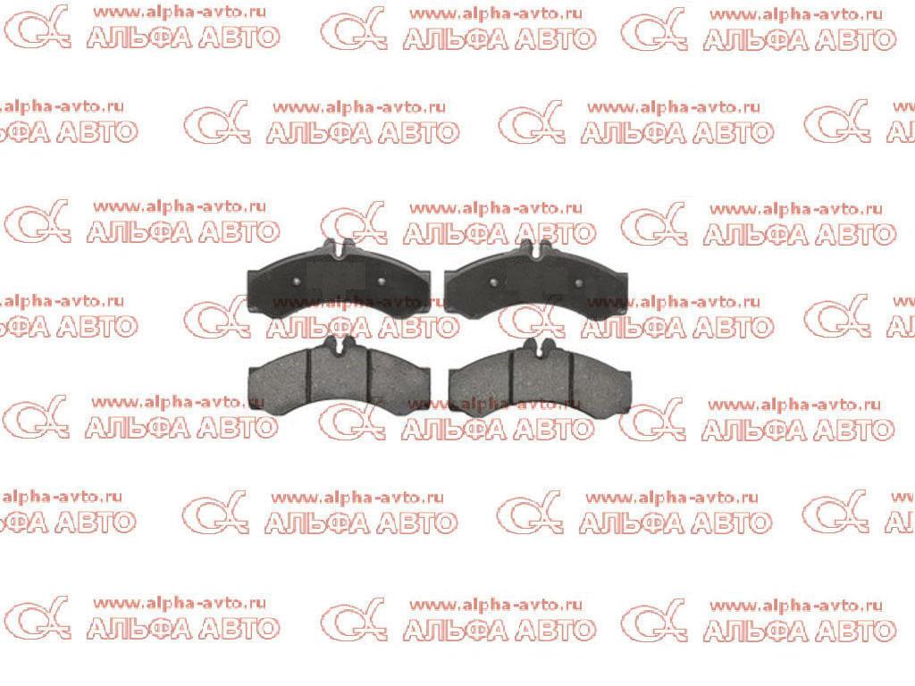 Bosch 0986424832 Колодки дисковые 29153/29076 MB Sprinter
