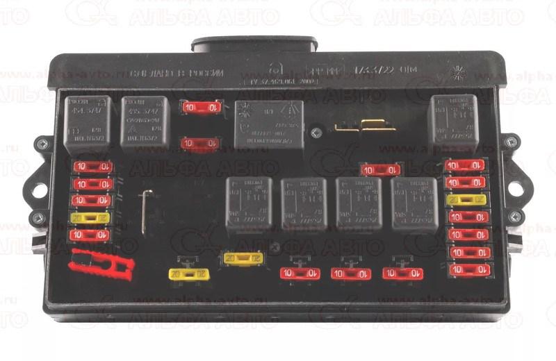 172.3722 Блок предохранителей ВАЗ 2108-09 старого образца