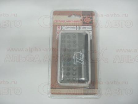 12976 Набор насадок 32пр. с магнитным адаптером ТЕХМАШ