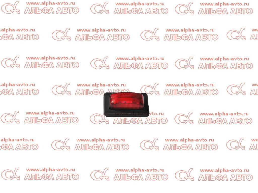 60.3731-02 Фонарь габаритов 24V паутинка красный