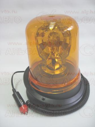 АТ14240 Маяк 12V на магните, стационарный стакан 190мм