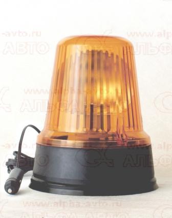 ТАС-M1A.3731 Маяк 12-24V желтый на магните LED маленький