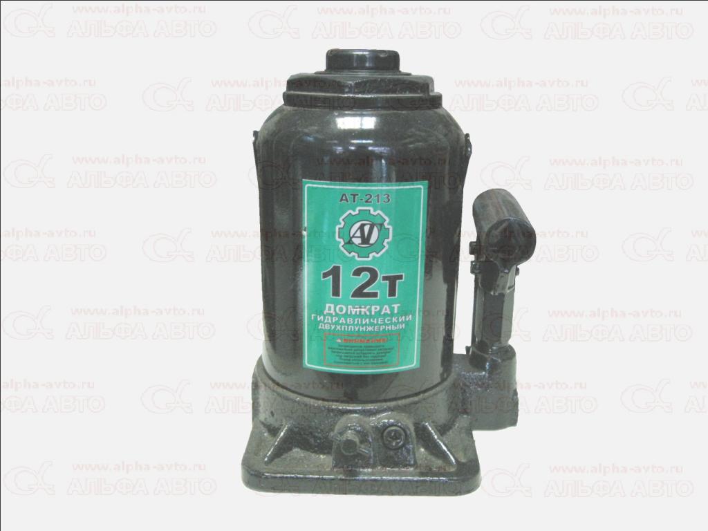 TH812001 Домкрат 12т двухплунжерный