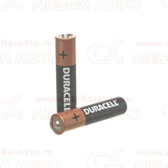 AAA Батарейка 1,5В LR03 Duracell BL-2