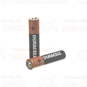 AA Батарейка 1,5В LR6 Duracell BL-2
