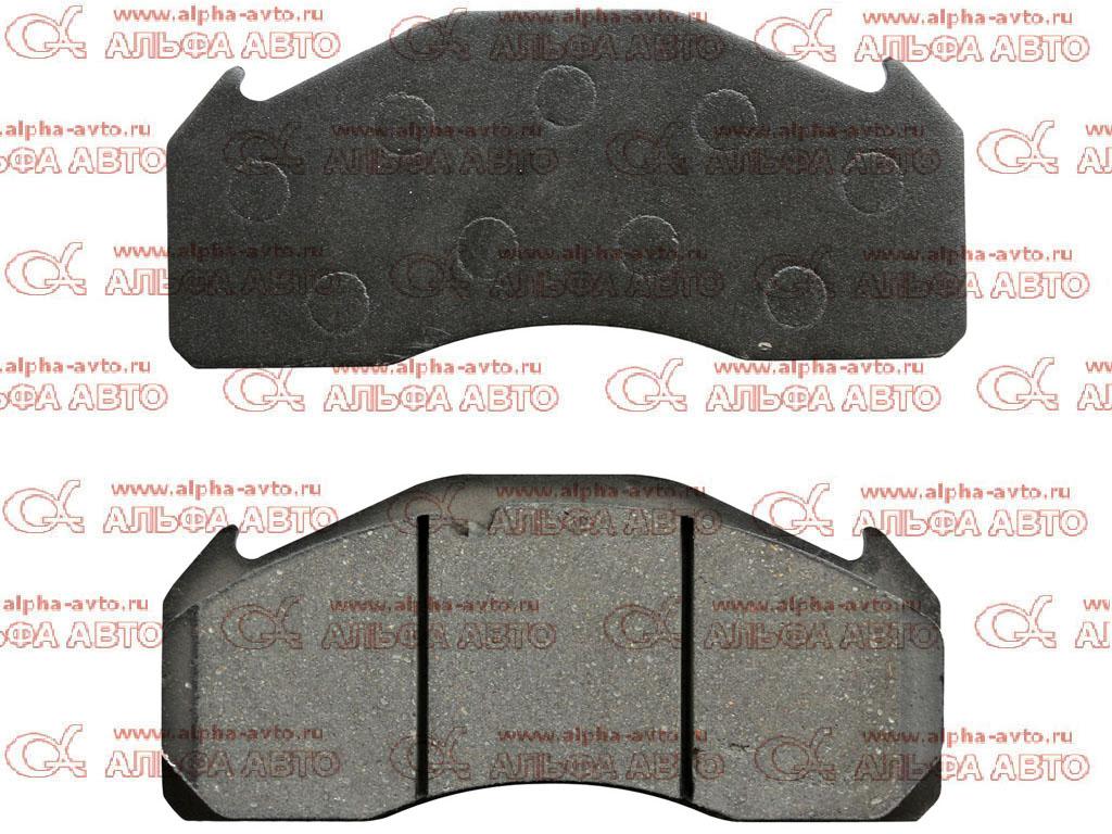 Kortex TR02277 Колодки дисковые 29125 Volvo FH/FM