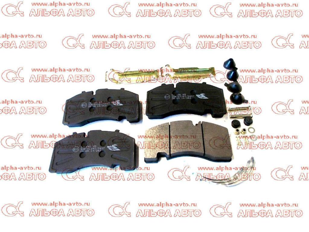 S&K SK29158-00 Колодки дисковые 29158 SAF с установочным комплектом