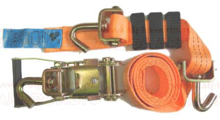 РА-3-35 Ремень Автовоза 3т 3,5 м (3 крюка)