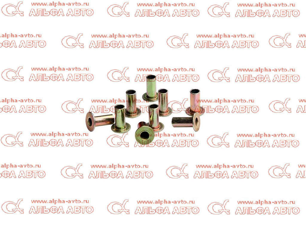B 93685 Заклепки тормозных  колодок 6,35x15,9 L10,  к-т 100шт
