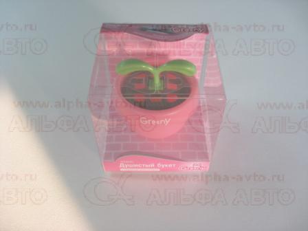 G534RU Ароматизатор меловой GREENY -Sweet Pea Bucket