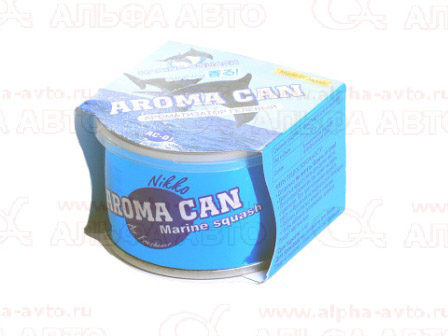 АС-01RU Ароматизатор гелевый AROMA CAN -Marine Squash