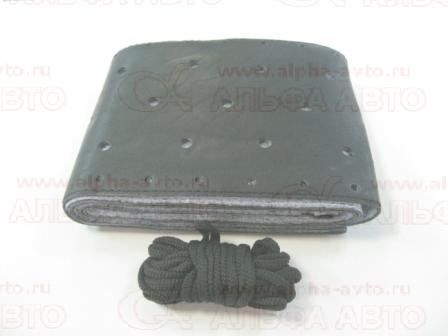 MP3 Оплетка руля кожа одношовная с пробоем MB Actros 1841