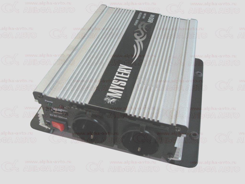 MAC-800 Преобразователь напряжения 12V-220Вт Mystery