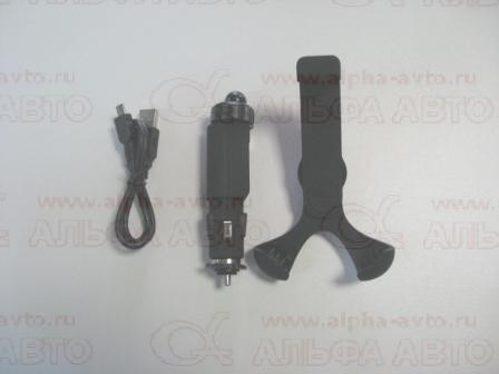 AMS-F-02 Держатель телефона в прикуриватель с USB