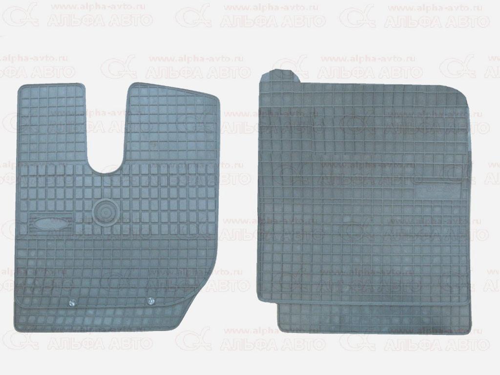 0098WK Коврики IVECO Stralis узкая кабина резиновые