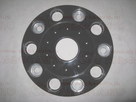 серый Колпак колеса R22.5 передний ступичный пластик закрытый