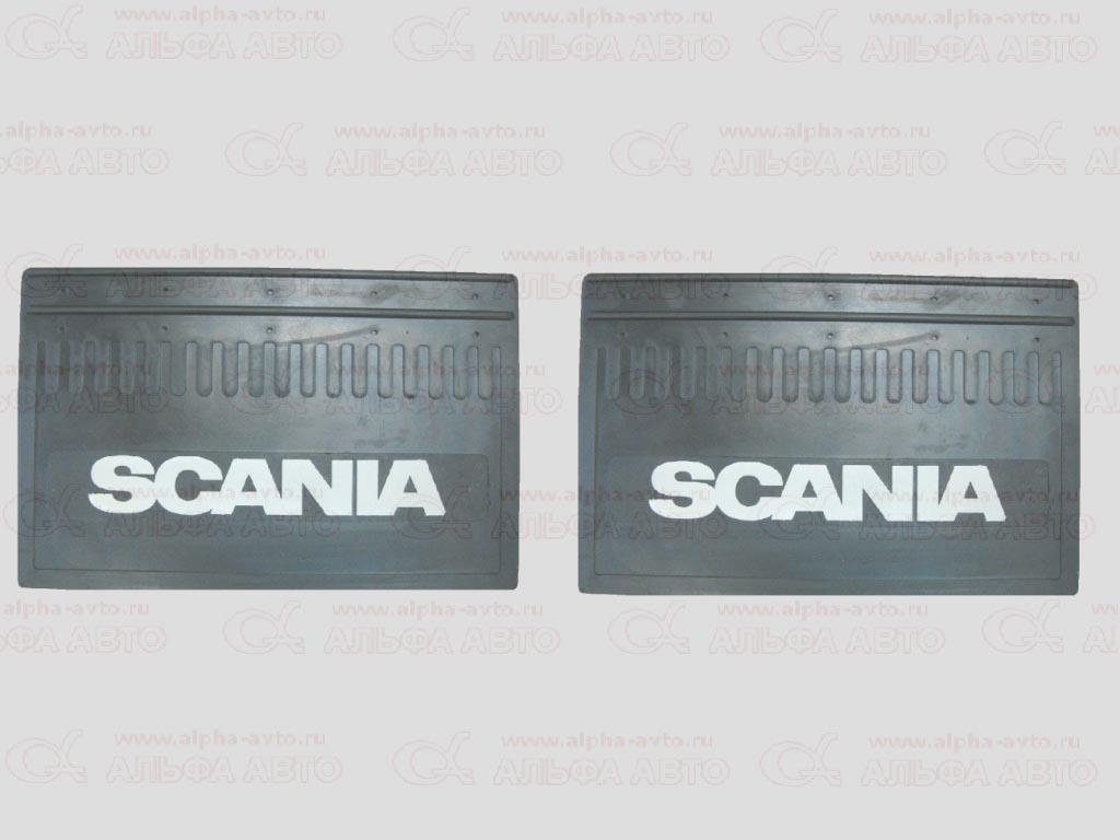 1136 Брызговик 35x52 Scania объемный текст