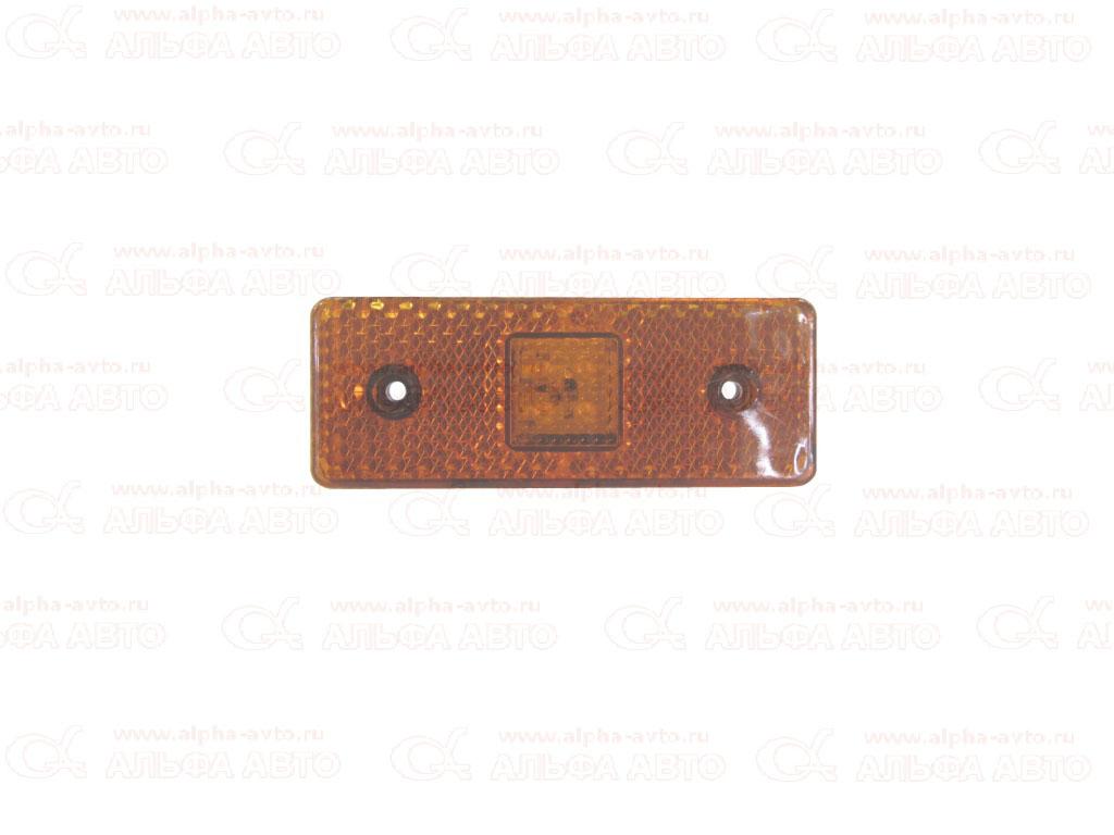 DA00778 Фонарь габаритов 12/24V led желтый