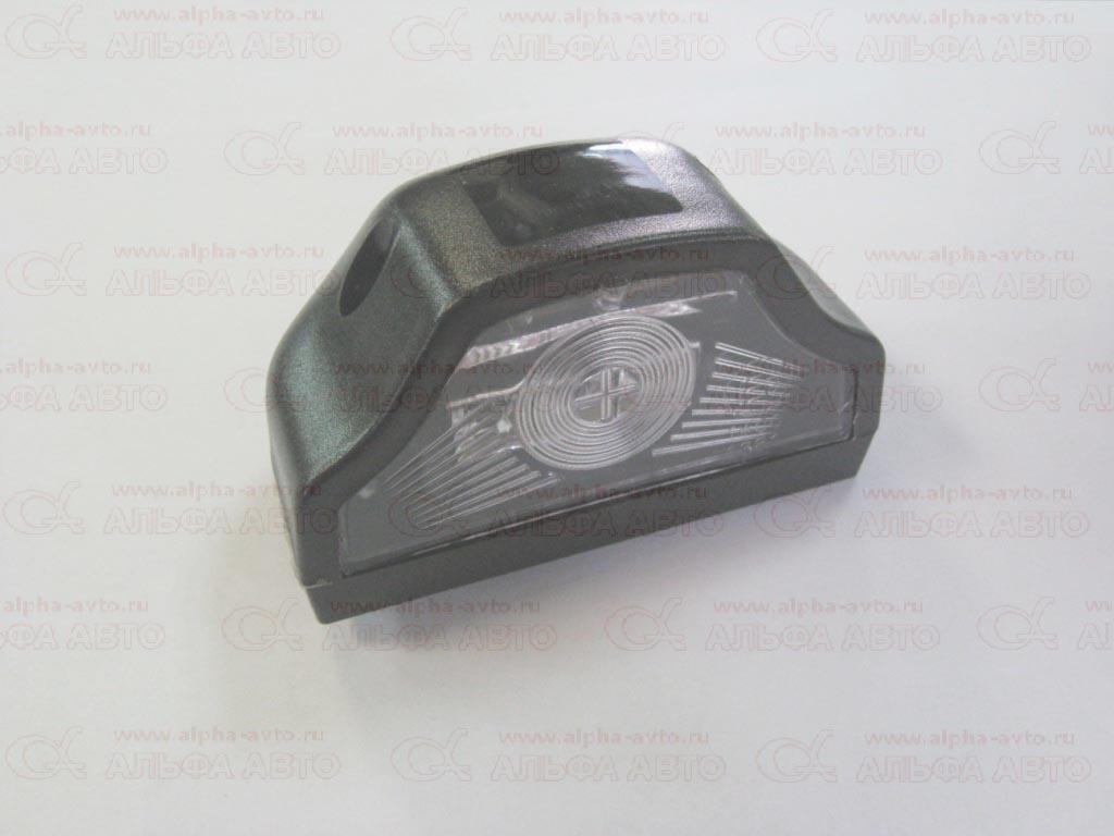 АТ-1250/led ч Подсветка номера светодиодная 24В черная волна