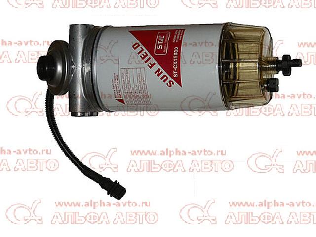 6403/01 Элемент фильтра грубой очистки топлива МАЗ ЕВРО-3 (со стаканом без датчика)