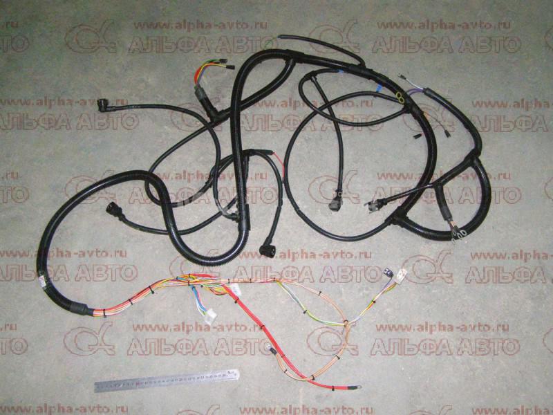 5440А8-3724160 Проводка МАЗ-5440А8 (жгут двигателя)