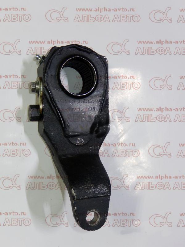 5434-3501135-010 Рычаг тормозной регулировочный левый МАЗ-ЕВРО (не автомат)