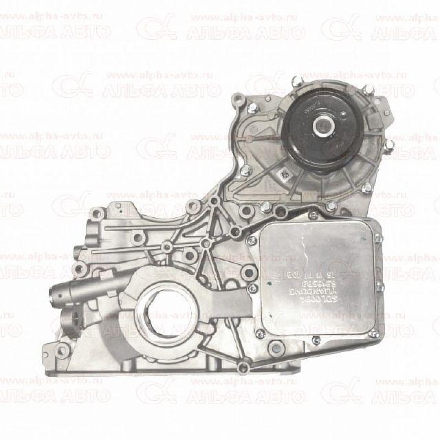 5302884 Крышка двигателя передняя ГАЗ 3302 двигатель Камминс